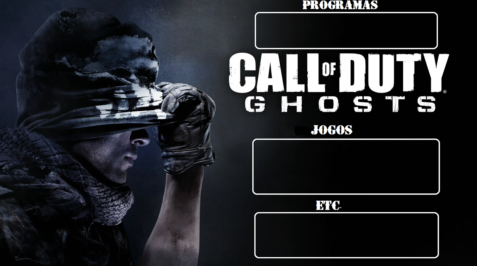 Wallpapers For Desktop Organizing Call Of Duty Ghosts Wallpaper
