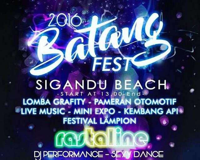 Event Batang | 31 Desember 2016 | Batang Fest 2016 di Pantai Sigandu