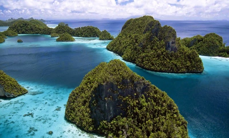 The beauty of Raja Ampat in Papua