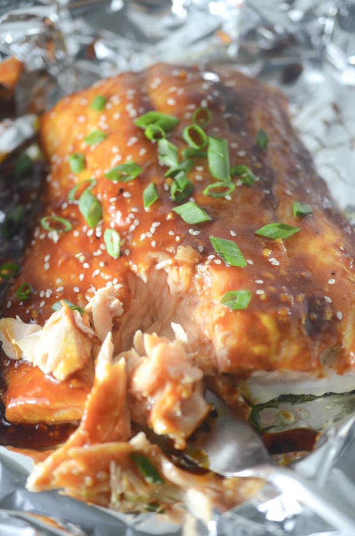 #Recipe : Firecracker Salmon