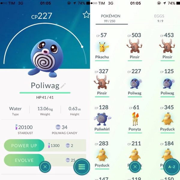 Dicas para evoluir os monstrinhos em Pokémon Go