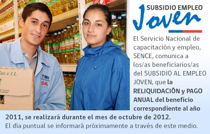 Subsidio al Empleo Joven ~ resultados admision