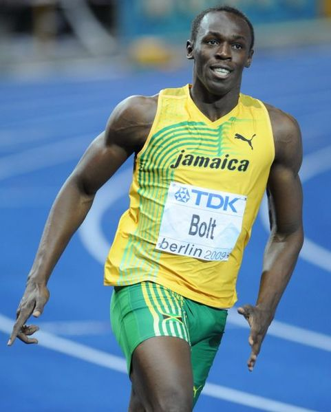 Usain Bolt Is The Fastest Man In The World And This is His ...