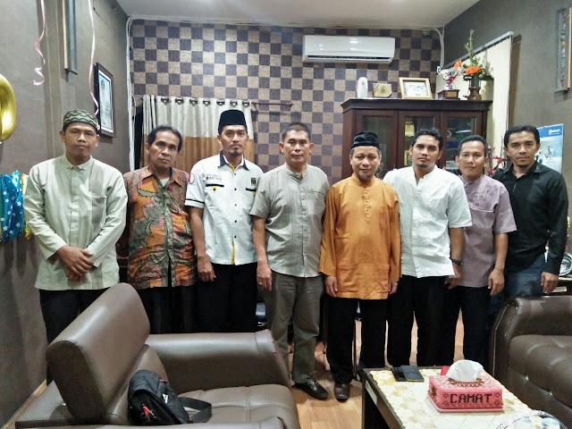 Saling Bersinergi, PKS Medan Petisah Kunjungi Kantor Camat dan KUA