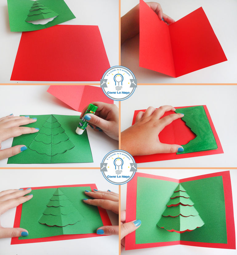 Manualidades goma eva - Como hacer tarjetas de navidad faciles ...