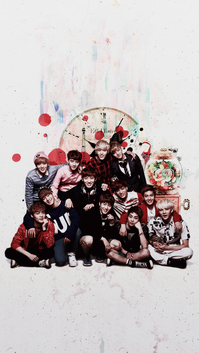 Top 4 Exo Iphone Wallpaper Tumblr Sweety Wallpapers