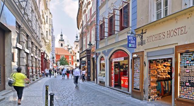 Rua Karlova em Praga | República Checa