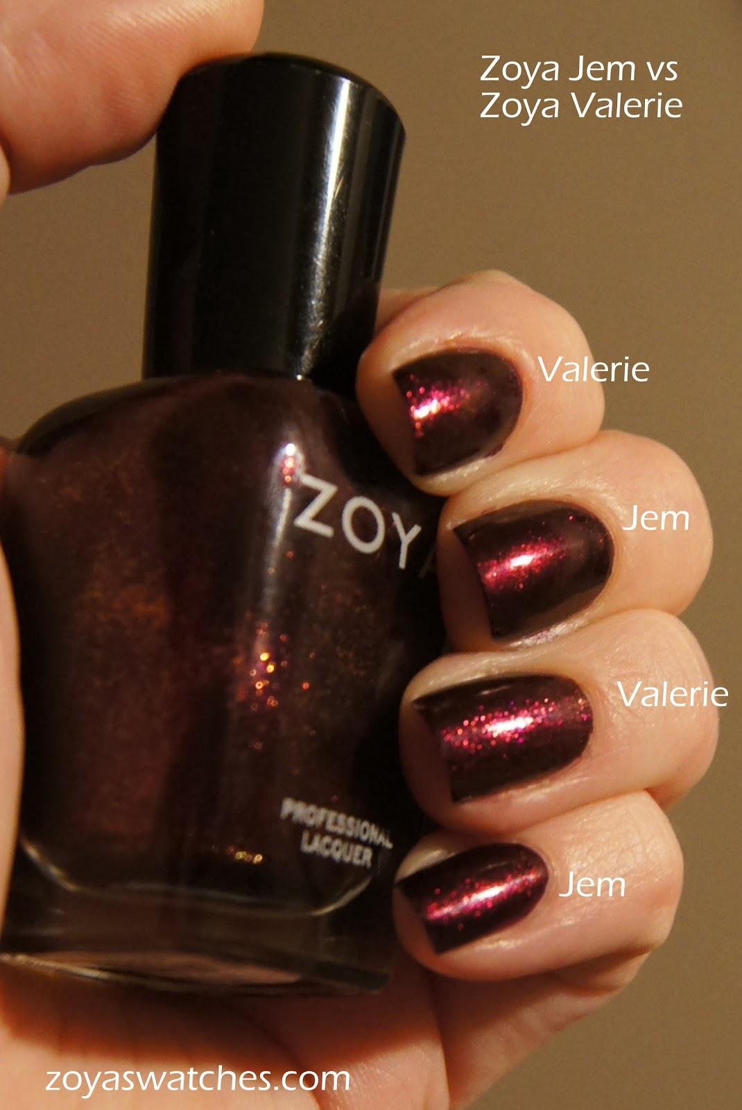 Zoya Valerie Vs Jem Color Me Jules:...