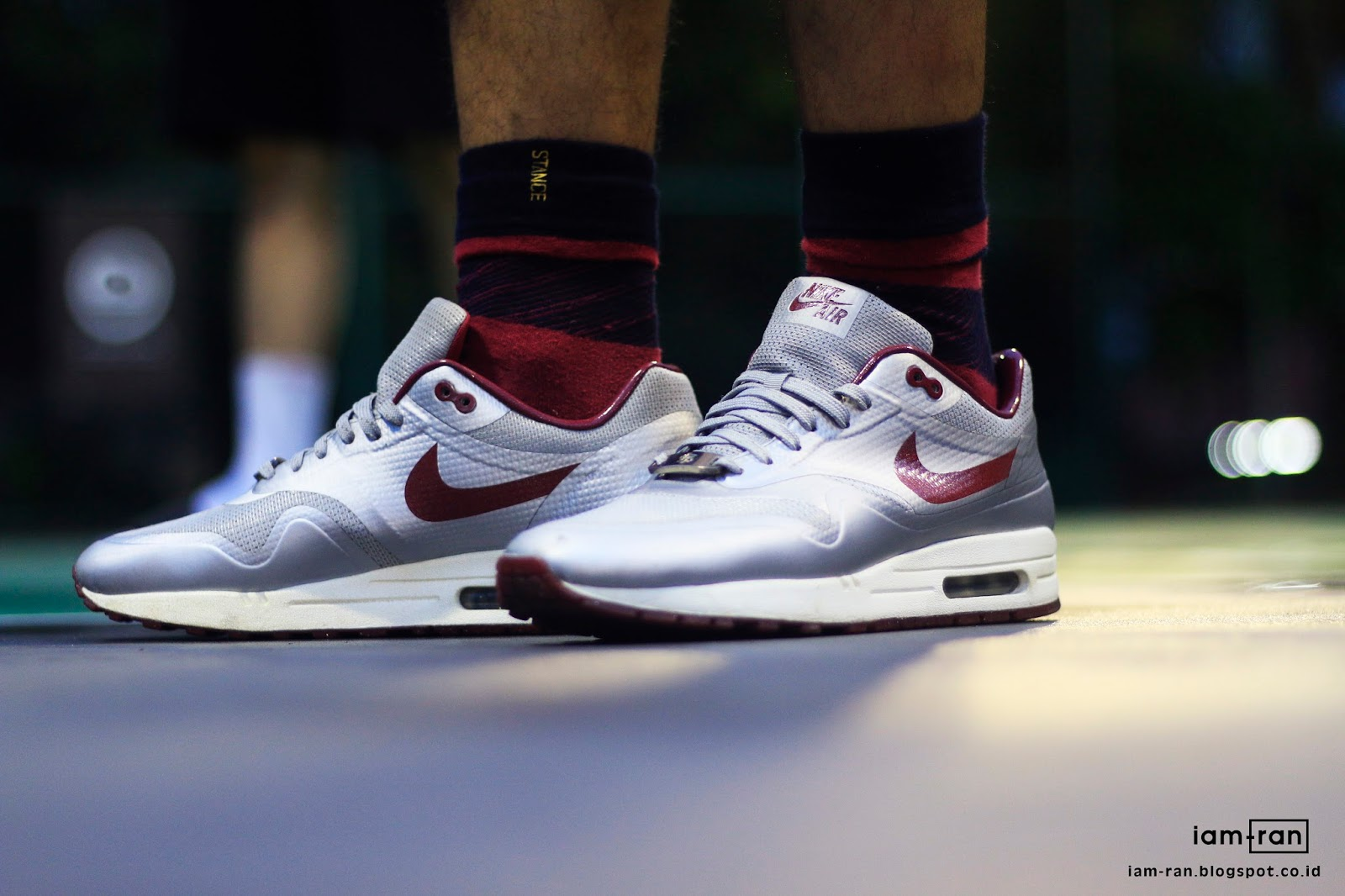 premium selection 36873 08629 ON FEET   Dayu - Nike Air Max 1  Night Track  Hyperfuse Quickstrike