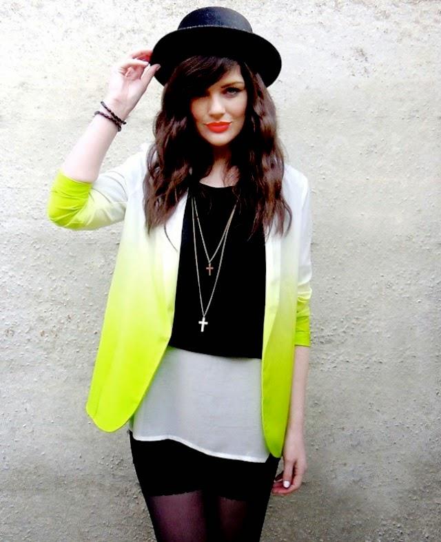 street style, estilo callejero, moda mujer, looks de inspiración, blazers, looks degradados, lookbook