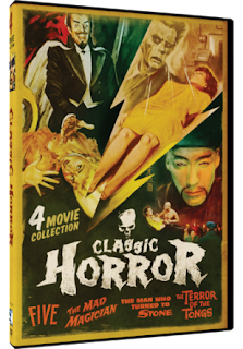 DVD Review: Classic Horror: 4 Movie Collection