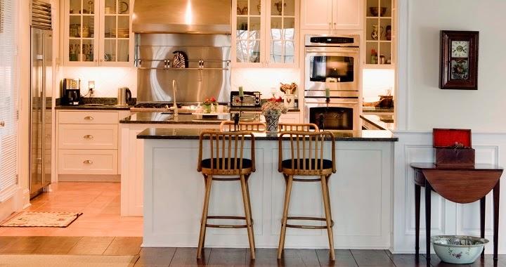 Marzua cocinas con barra americana - Barras americanas para cocinas pequenas ...