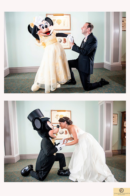 bride with mickey