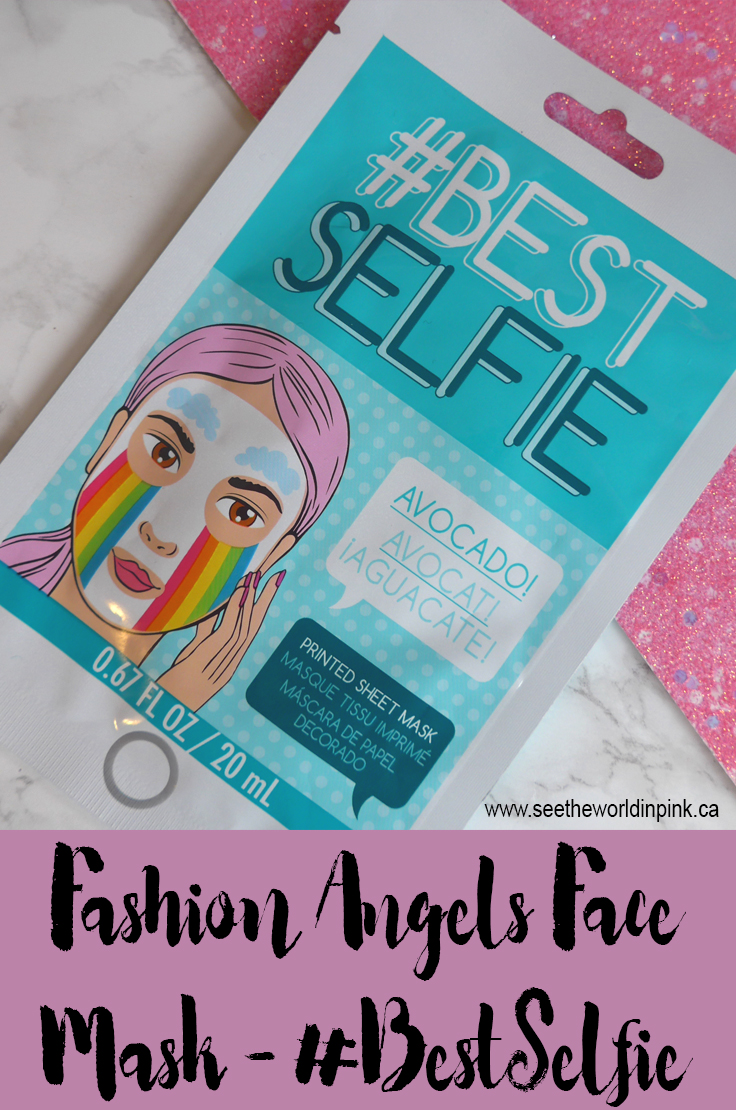Fashion Angels Face Mask #BestSelfie
