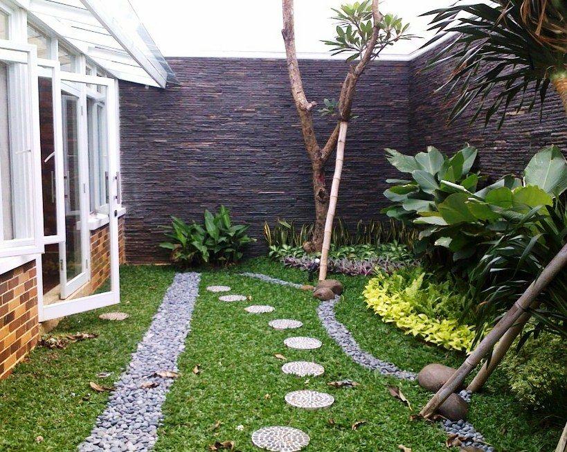 Desain Taman Minimalis Belakang Rumah Modern