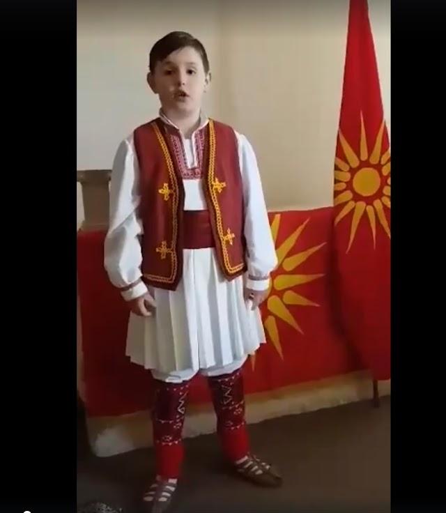 Anton aus Australien erklärt warum Eure Kinder Mazedonisch lernen sollten...