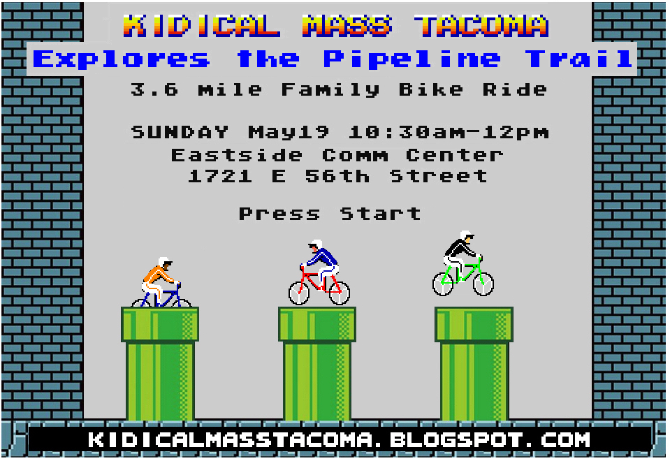 Kidical Mass Tacoma: 2019