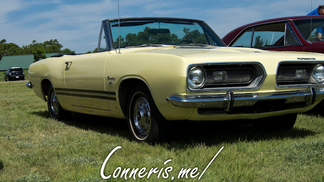 1968 Plymouth Barracuda Front Angle