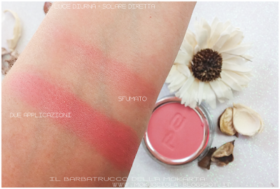 blush makeup p2 cosmetics swatches