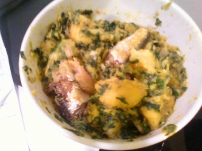 Plantain/Yam Porridge Recipe
