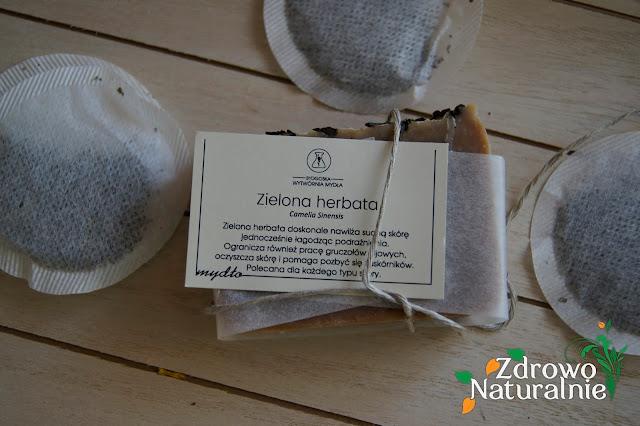 Bydgoska Wytwórnia Mydła - Mydło w kostce Zielona Herbata