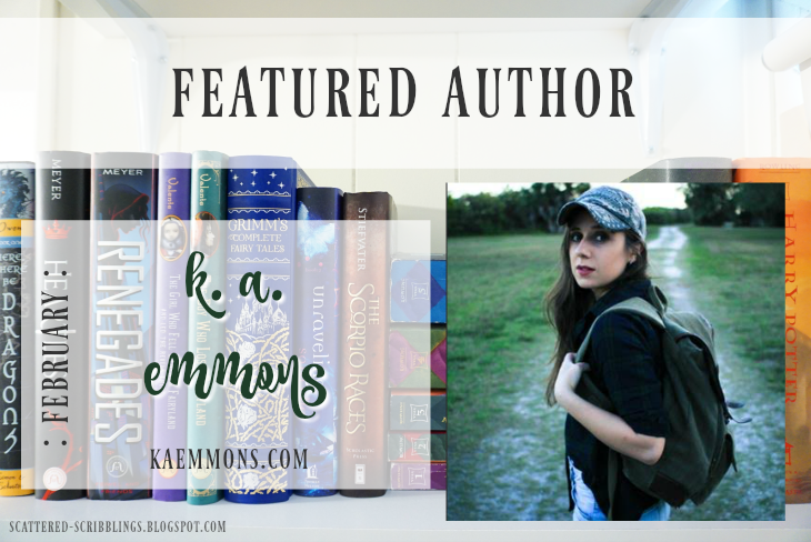 Featured Author - February // K.A. EMMONS