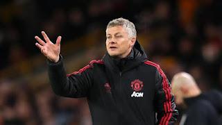 Manchester united manager, Ole Gunner Solskjaer.