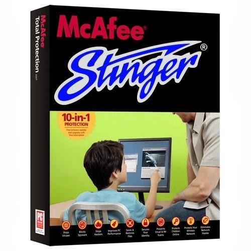Download gratis McAfee AVERT Stinger - McAfee Stinger terbaru 2014