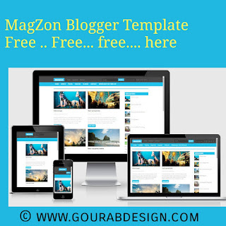 magzon blogger template