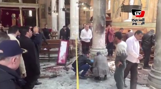 In 48 Hours: Islamic Extremists Kill More Than 200 Across Five Countries Egypt's Coptic Christian Cathedral Bombed