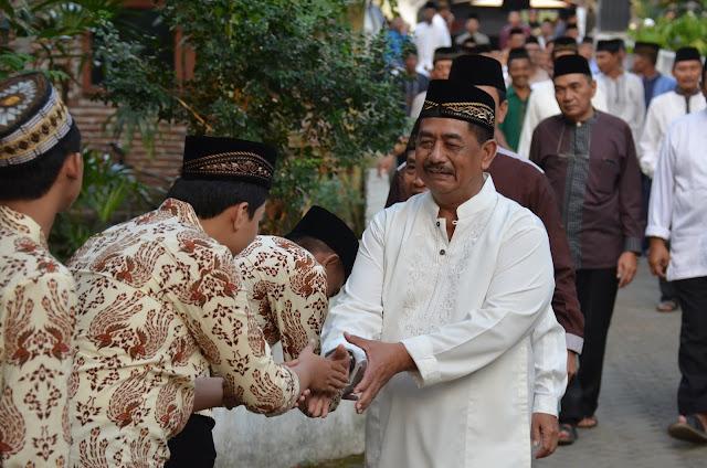 Hari Kedua Safari Ramadhan, Pemkab Trenggalek Sambangi Desa Gembleb dan Desa Sukowetan