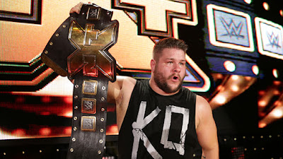 Kevin Ownes WWE NXT wrestling rookie awards