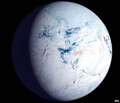 Why Earth is not an orbiting ice ball