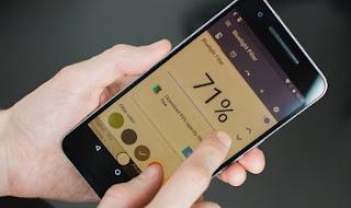 Redupkan Layar Smartphone agar baterai smartphoe tahan lama