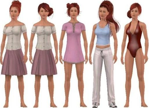 Bad CC in the Sims 3: Long hairstyles for Sims 3 (Clean CC)