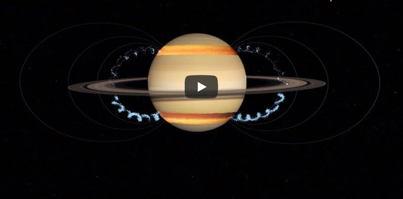 VIDEO NASA: gli anelli di Saturno stanno scomparendo.