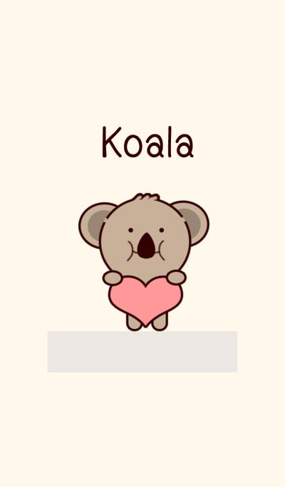 Koala Brown and Pink
