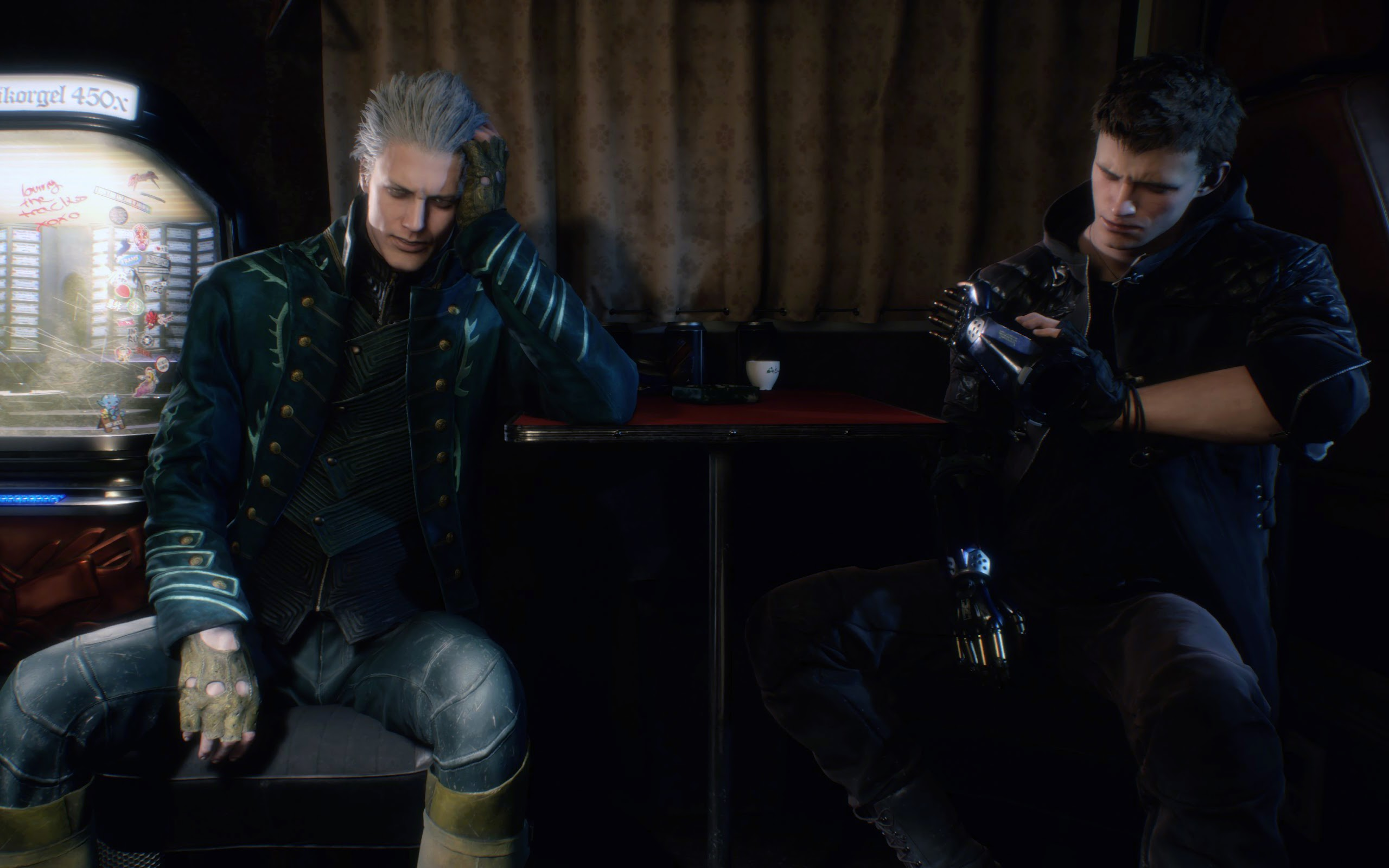 Vergil And Nero Devil May Cry 5 4k Wallpaper 141