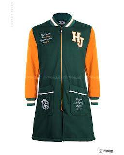 HJ-QD ALPINE GOLD QADIRA HIJACKET Warna Utama : DARK GREEN Warna Tambahan : MARIGOLD