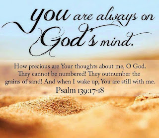 God denkt voortdurend aan je