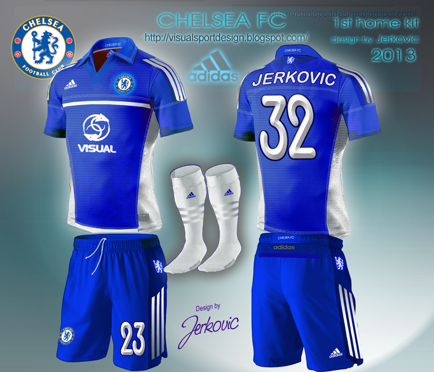 0bd9df232 Visual Football Fantasy Kit Design  CHELSEA FC ADIDAS