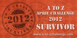 A to Z April Challenge Survivor 2012