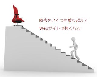障害をいくつも乗り越えてWebサイトは強くなる