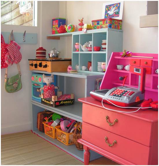 Play Kitchens For Girls: Bebe A La Mode Designs: Homemade Play Kitchen Needs A Friend