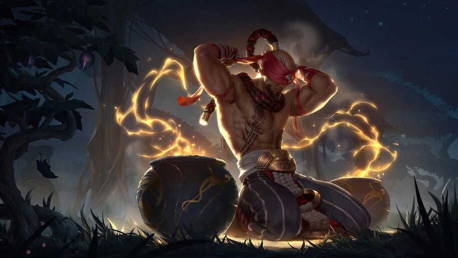 Lee Sin, LoL, Legends of Runeterra, 4K, #3.1775