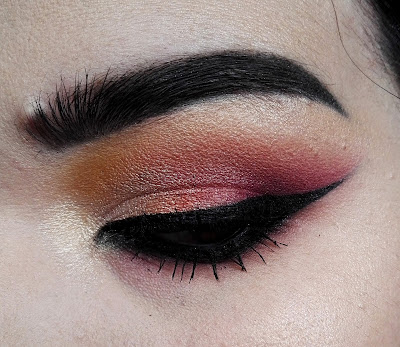 Colourful Makeup Look