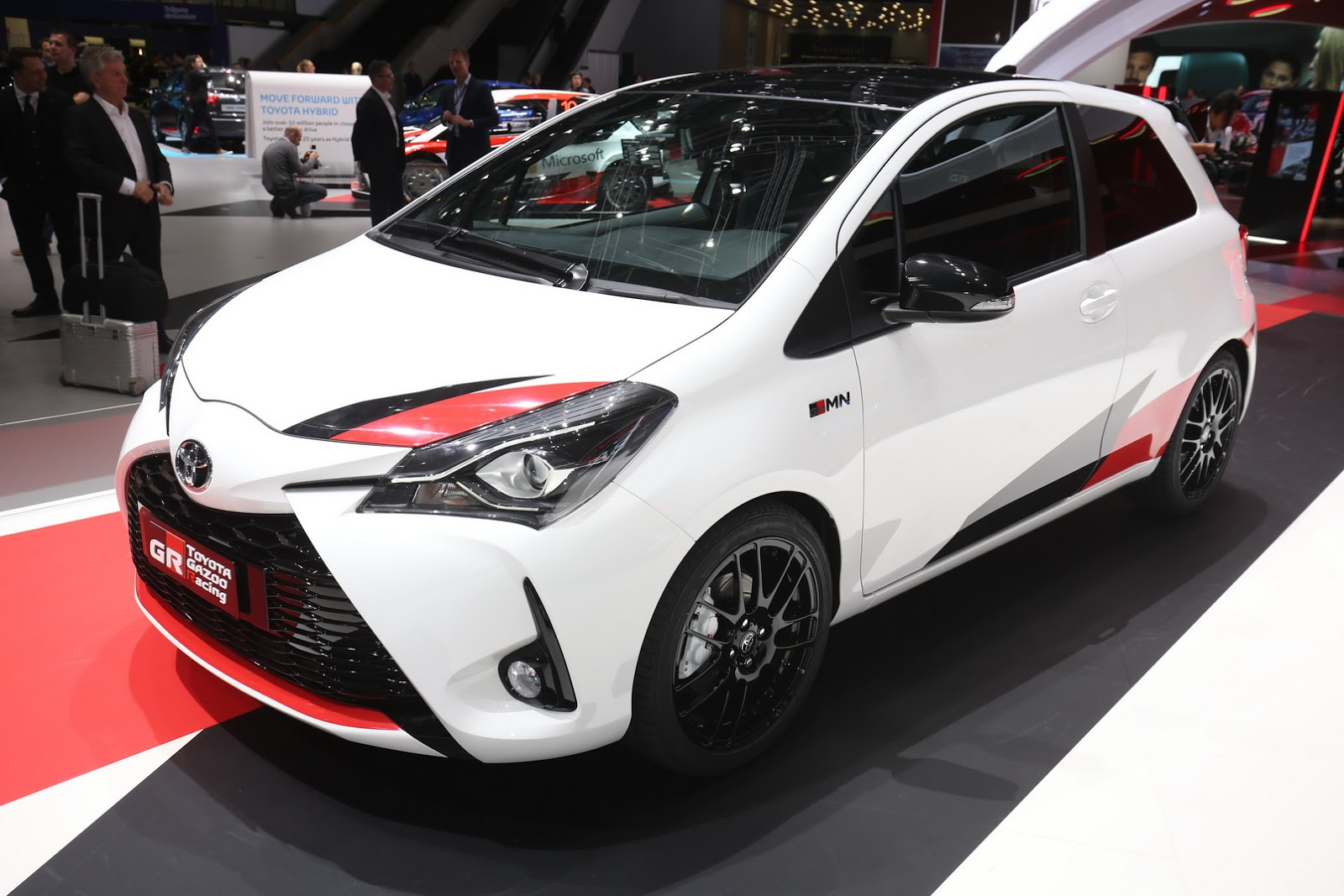 toyota yaris trd spoiler wiper grand new avanza grmn will be limited to 400 units in europe