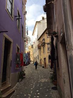 ruas de Alfama