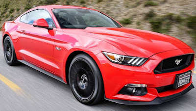 Ford Mustang GT side angle Hd image