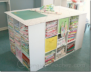 Tranquillity Cottage Blog Cutting Table Using Pre Made Cubes